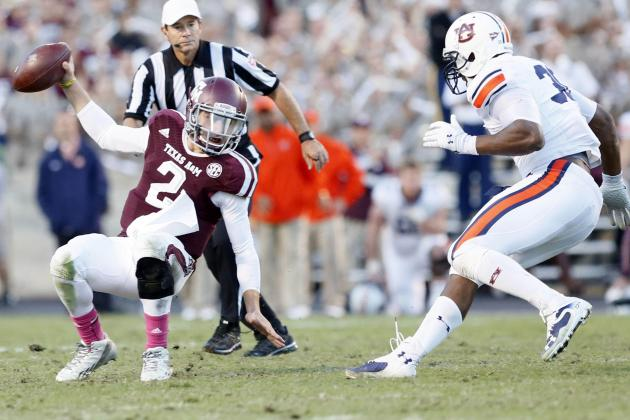 Day of SEC Upsets Impacts BCS Rankings, BCS Bowls and Heisman Trophy Race