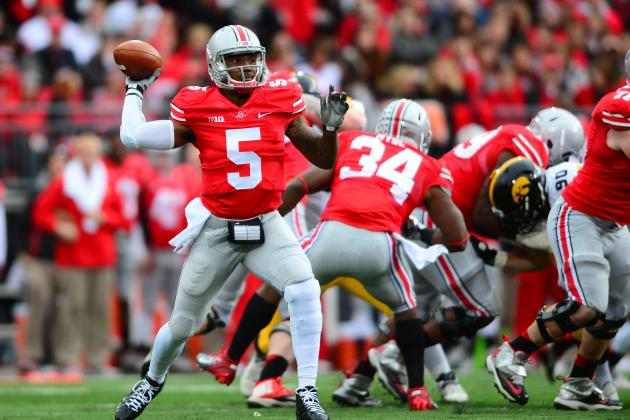 Sluggish Ohio State Buckeyes Remain Undefeated Without Cornerback Bradley Roby