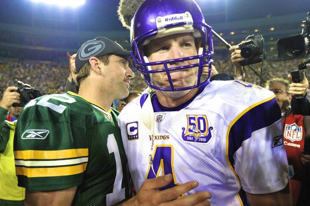 Brett Favre Has Packers' Aaron Rodgers on His Fantasy Football Team
