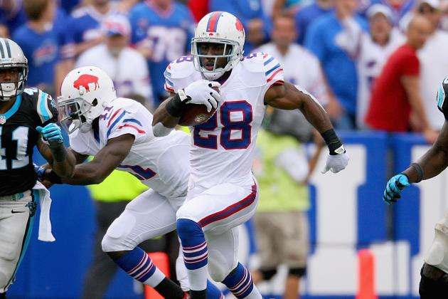 C.J. Spiller's Updated Fantasy Value After Fred Jackson's Injury