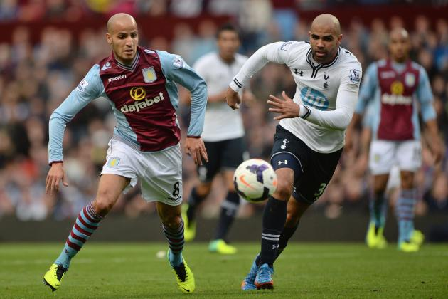 Tottenham Lineup in Win vs. Villa Highlights Villas-Boas' Selection Dilemmas