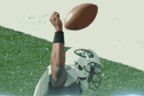 Jets' Geno Smith Celebrates TD with Failed Spike Attempt