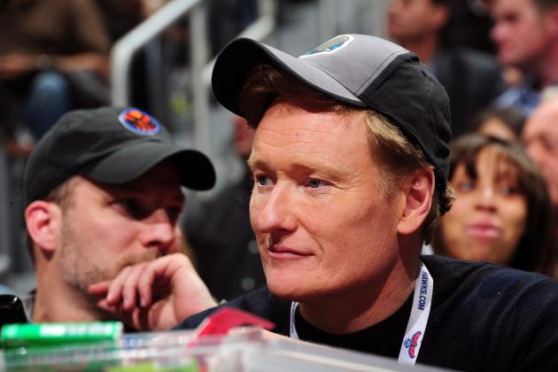 Conan O'Brien to Call Race at Santa Anita