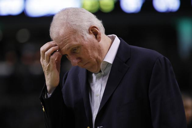 Gregg Popovich Is Upset with Placement of Cameras at NBA Games