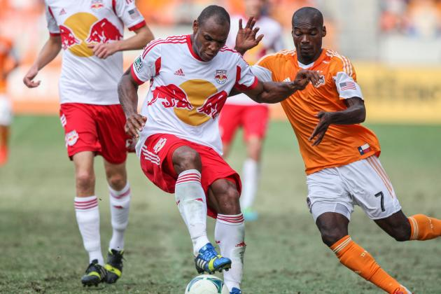 Dynamo Blanked by Red Bulls 3-0 in Home Finale