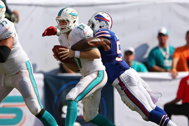Dolphins' Offense Doesn't Hold Up Its End in Loss to Bills