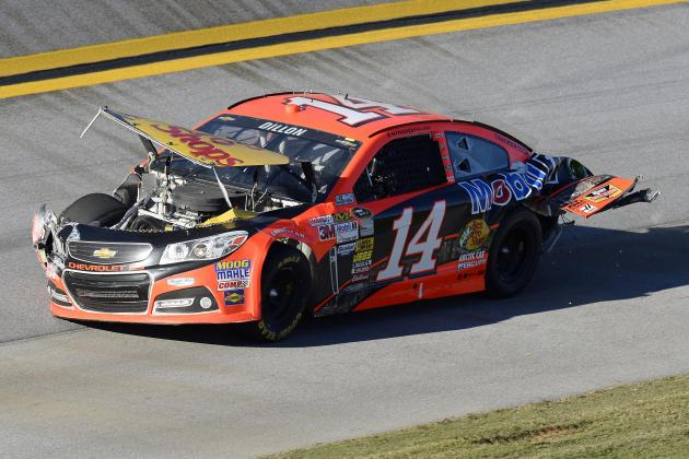Austin Dillon OK After 'Wild Ride' on Final Lap at Talladega