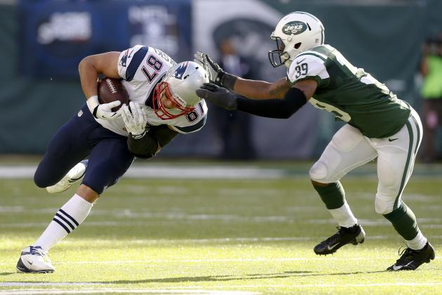 Breaking Down How Rob Gronkowski Helped the New England Patriots Passing Attack