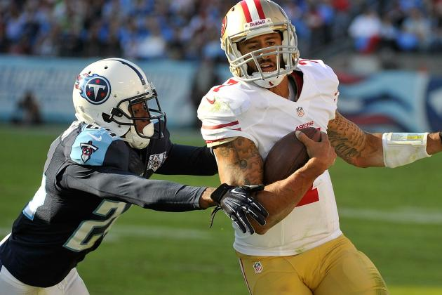 Niners Top Locker, Titans to Win 4th in a Row