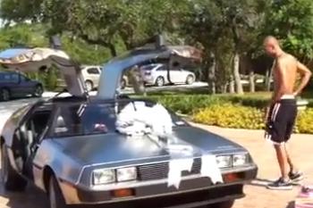Tony Parker Got a DeLorean for His 30th Birthday