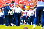 Texans Lose Brian Cushing for Year with Broken Leg