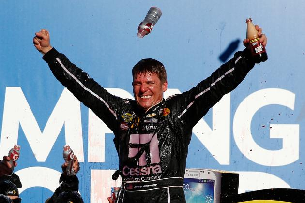 'Dega Winner McMurray Leads Wave of Non-Chasedrivers
