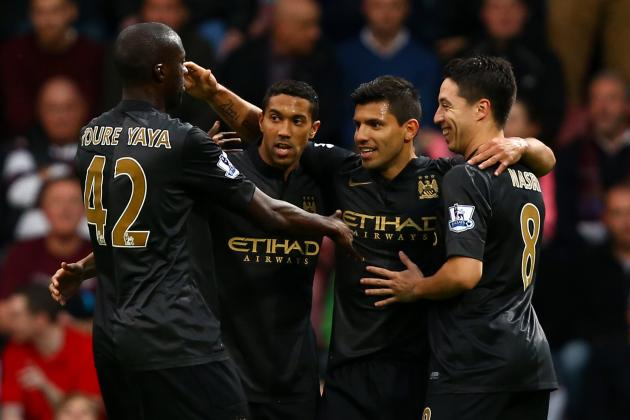 How Manchester City Will Line Up Against CSKA Moscow in Champions League Tilt