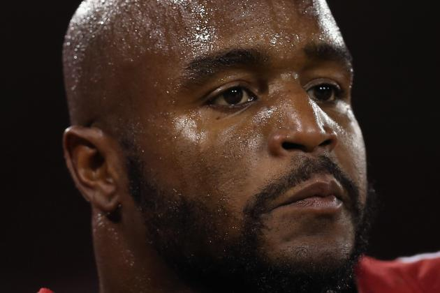 Donte Whitner Leaves Blowout with Knee Injury