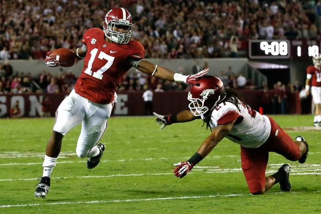 BCS Rankings 2013: Alabama Looks so Unbeatable, It's Almost Boring