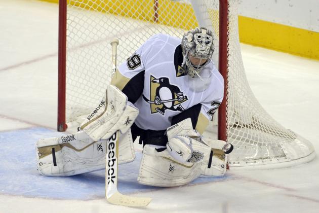 Does Marc-Andre Fleury's Resurgence Make Penguins Presidents' Trophy Favorites?