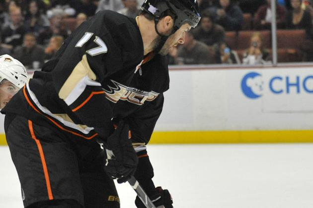 Ducks Say Penner Was Briefly 'Knocked Out,' Now Fully Mobile
