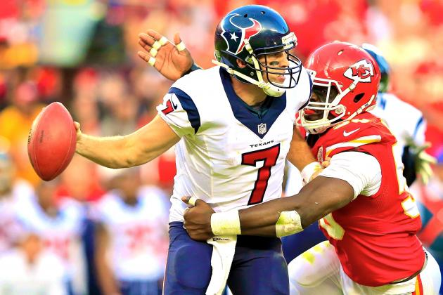 Case Keenum Not the Answer for Houston Texans' QB Woes