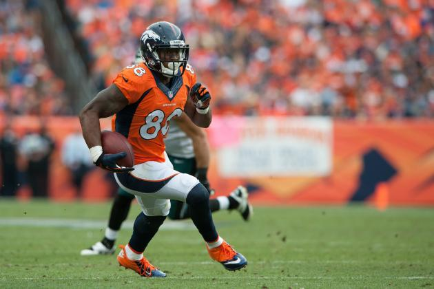 Demaryius Thomas' Instant Fantasy Reaction After Week 7