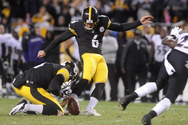 Steelers Rally to Beat Ravens on Final-Play FG