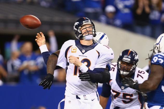 Colts Spoil Peyton Manning's Return to Indianpolis