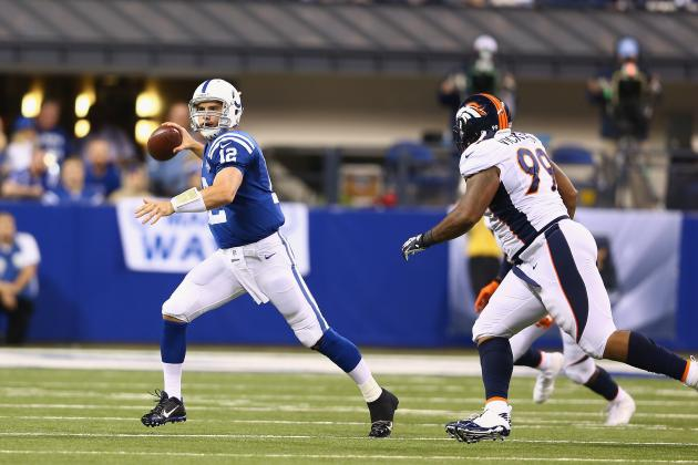 Andrew Luck Flopped His Way to a Game-Winning First Down