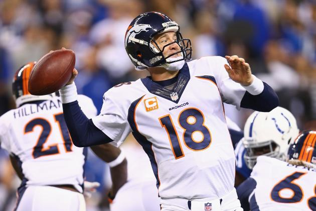 Peyton Manning Responds to 'Wobbly Passes' Question
