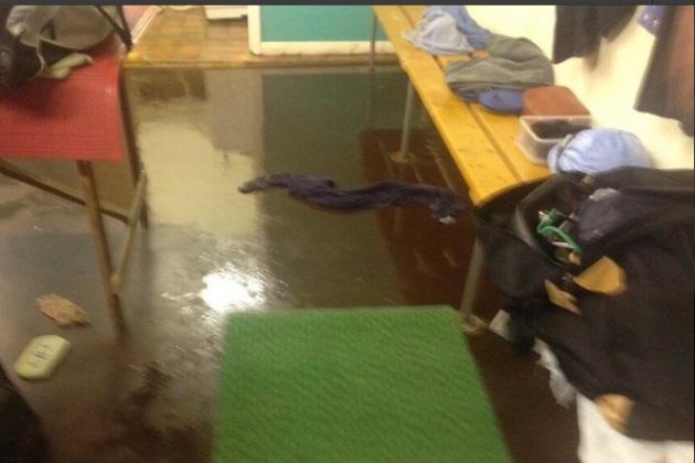 Jockey Richard Hughes Tweets Picture of Sewage in Changing Rooms at Bath