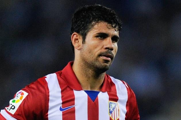 Brazil's Scolari Not Giving Up on Diego Costa