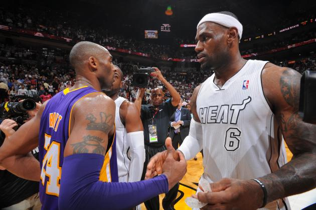 LeBron James Calls Kobe Bryant a Top 5 NBA Star 'For Sure'