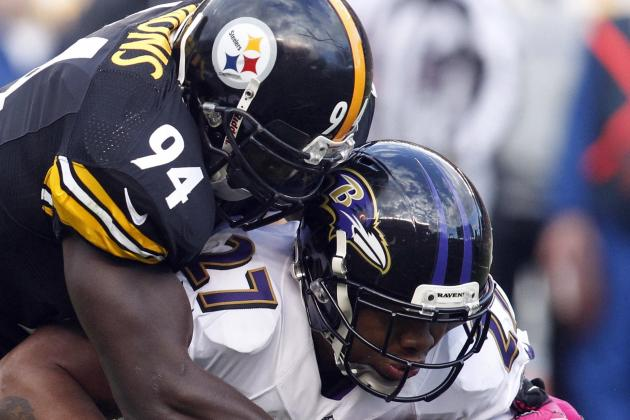 Steelers' Timmons Leads Defensive Charge