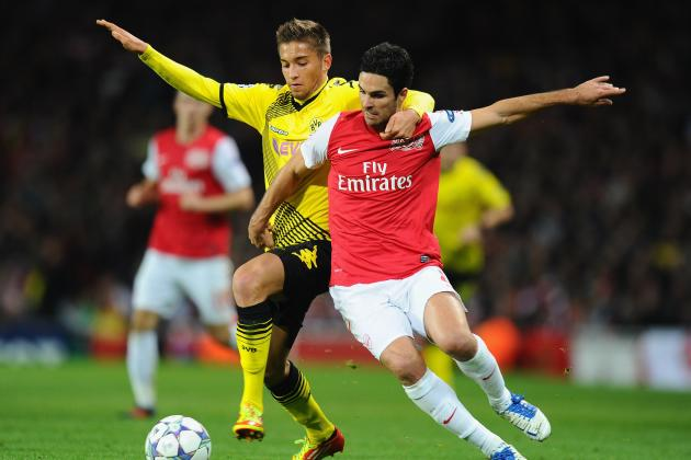 Why Borussia Dortmund Match Will Be Vital to Arsenal's Champions League Progress
