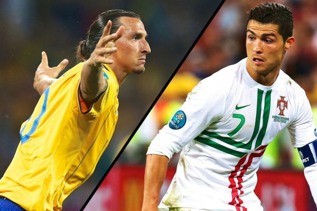 Cristiano Ronaldo and Zlatan Ibrahimovic Face off for 2014 World Cup Place