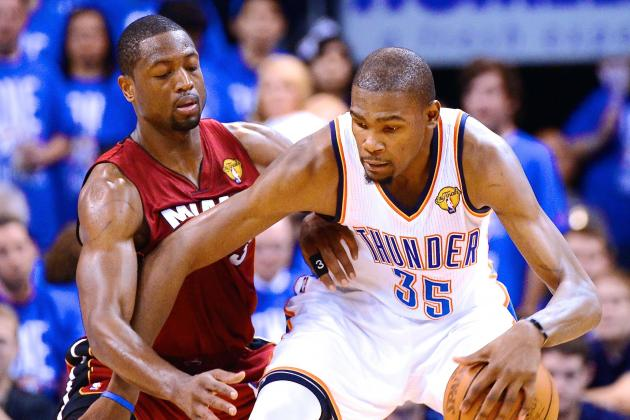Kevin Durant Says It's Time for Dwyane Wade to 'Pass the Torch'