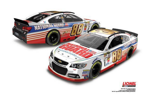 Dale Earnhardt Jr to Sport New-Look National Guard Chevy in 2014