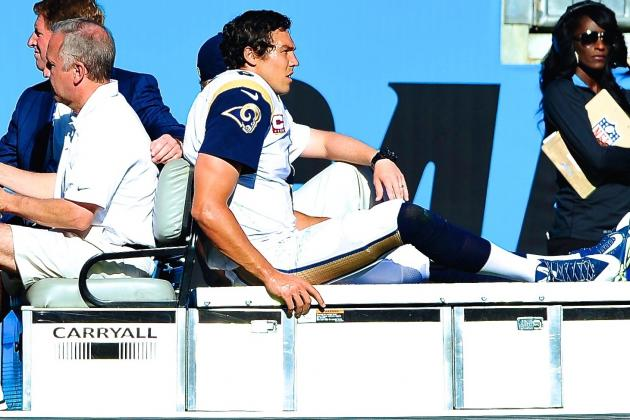 Sam Bradford Will Miss Remainder of Rams' 2013 Season with Torn ACL