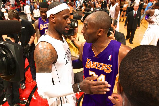 LeBron James Calls Kobe Bryant a Top 5 NBA Star 'For Sure'