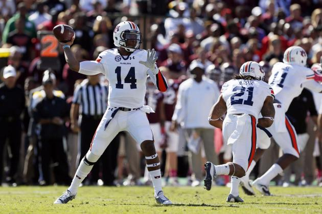 Auburn QB Nick Marshall Headlines Week 8's SEC Football Players of the Week