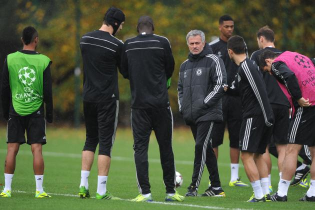 How Chelsea Will Line Up Against Schalke '04 in Champions League Group E Clash