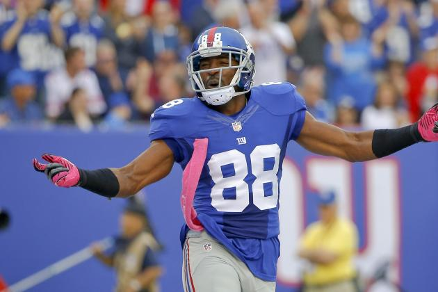 Hakeem Nicks' Updated Fantasy Outlook for Vikings Game