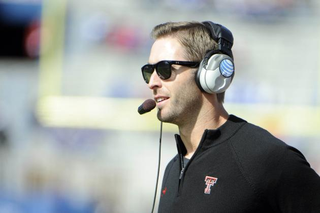 Big 12 Teleconference News and Notes: Offensive Question Marks, Kingsbury's Path