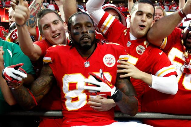 Dwayne Bowe Is Savoring Every Minute of the Chiefs' Unbeaten Season