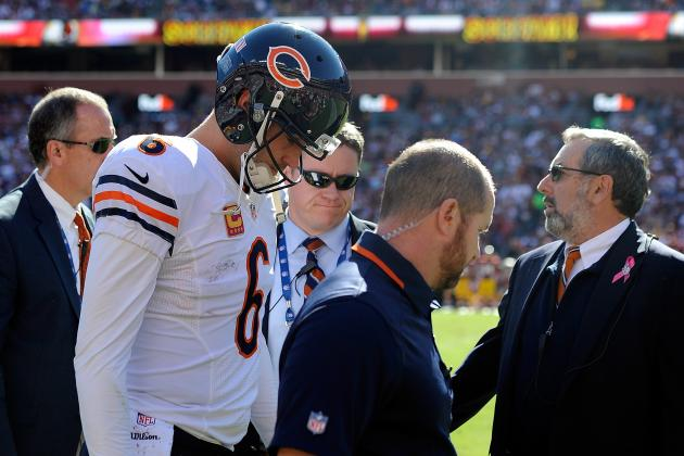 Jay Cutler out at Least 4 Weeks Due to Torn Groin Muscle