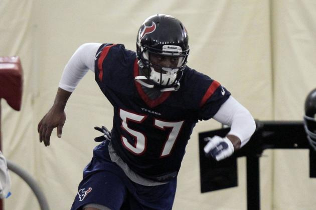 Source: Texans Waive Rookies Due to Violations of Team Rules