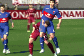Hilarious Pro Evolution Soccer 2014 Glitch: Player Gets Piggyback in Argentina