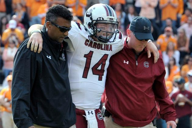 Is Steve Spurrier to Blame for Connor Shaw's Injury Problems?