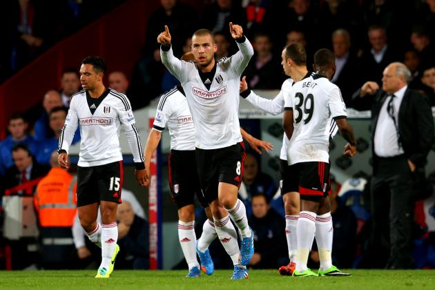 GIF: Pajtim Kasami Scores Wondergoal for Fulham Against Crystal Palace