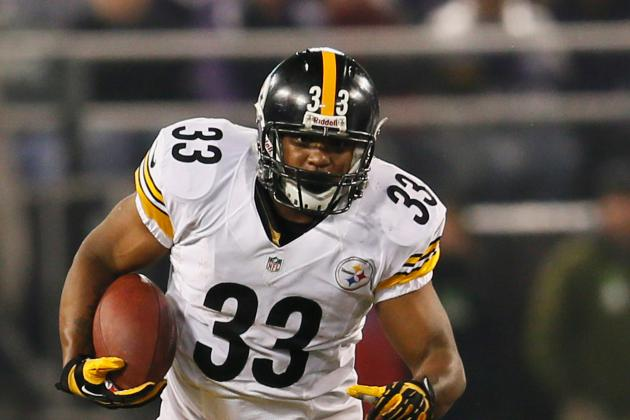 Isaac Redman Released by Pittsburgh Steelers