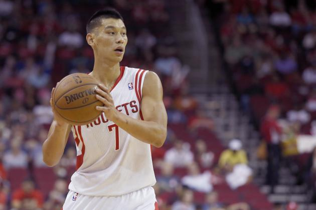Jeremy Lin Not Guaranteed Houston Rockets Starting Point Guard Job in 2013-14