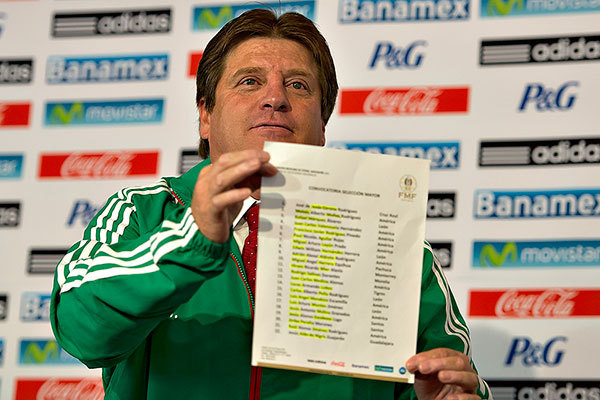 Mexico: Why Miguel Herrera Capped 10 America Players for El Tri